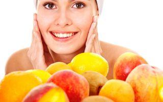 Вкусные фрукты для красивой кожи