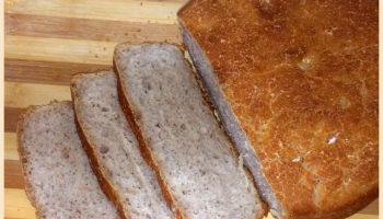 Бездрожжевой гречневый хлеб