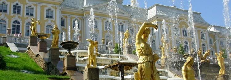 Все фонтаны Петергофа с фото