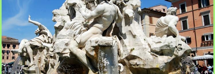 Фонтан Четырех рек в Риме — факты и легенды