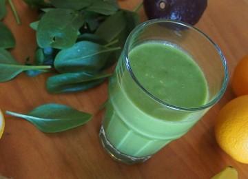 Вкусные рецепты зелёных смузи для блендера
