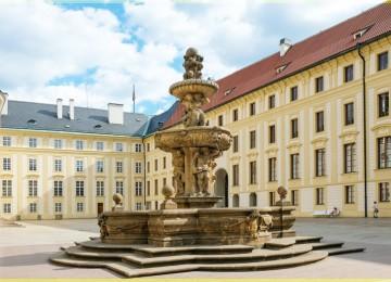 Леопольдов Фонтан( фонтан Кола) — древнейший фонтан в Праге