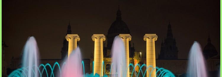 Магия волшебного фонтана Монжуик в Барселоне
