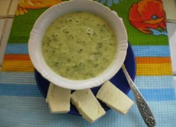 Детские овощные супы-пюре