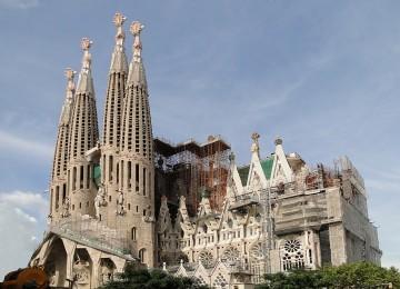 Sagrada Familia или Храм Святого Семейства в Барселоне