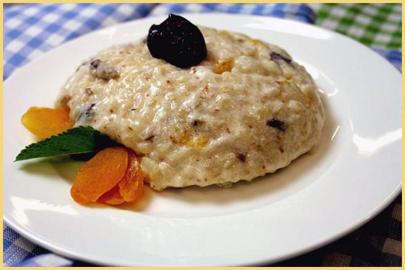 пудинг из риса