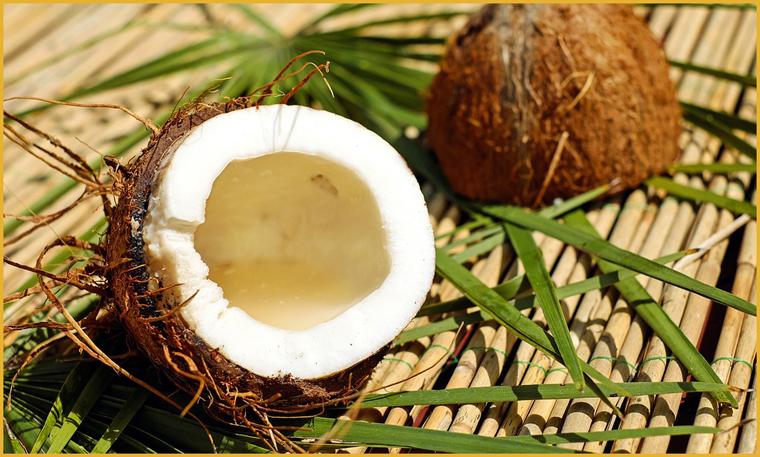 Очищение организма кокосом