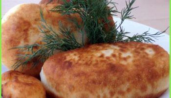Пирожки на кефире «Воздушные»