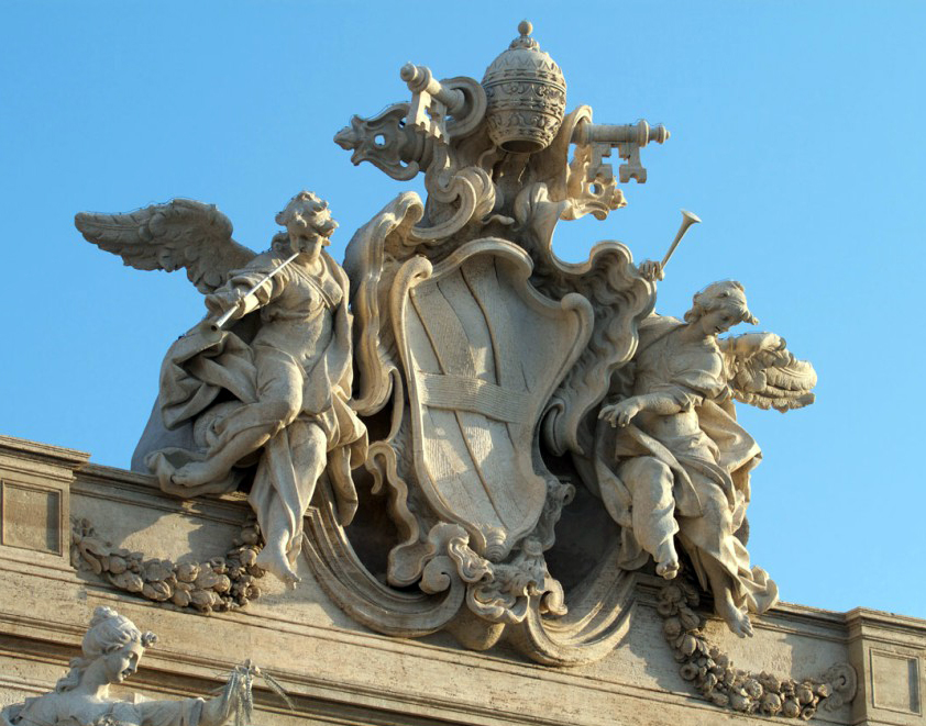 Герб папы Климента XII