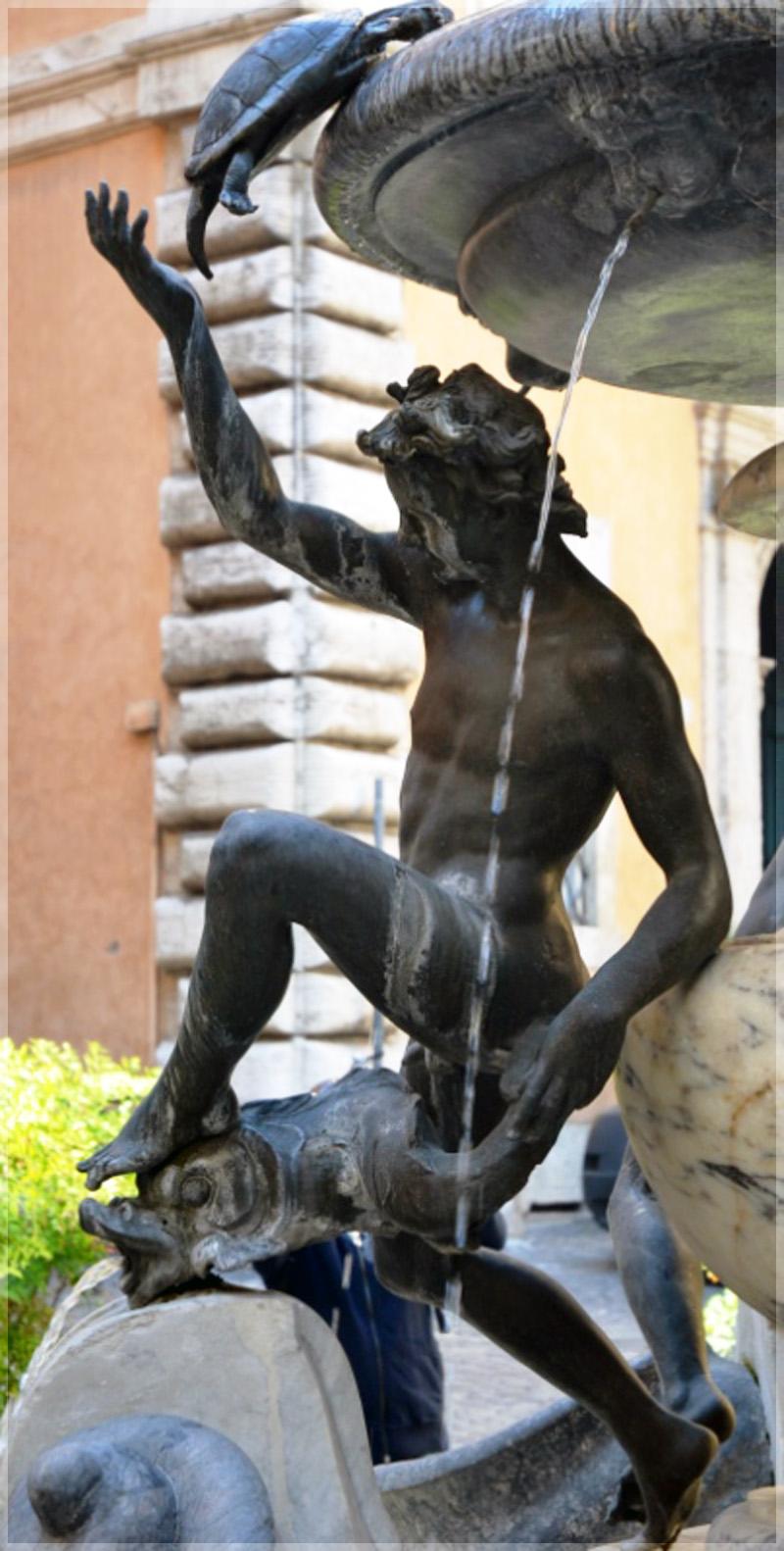 Фонтан Черепах в Риме - история, легенды, описание