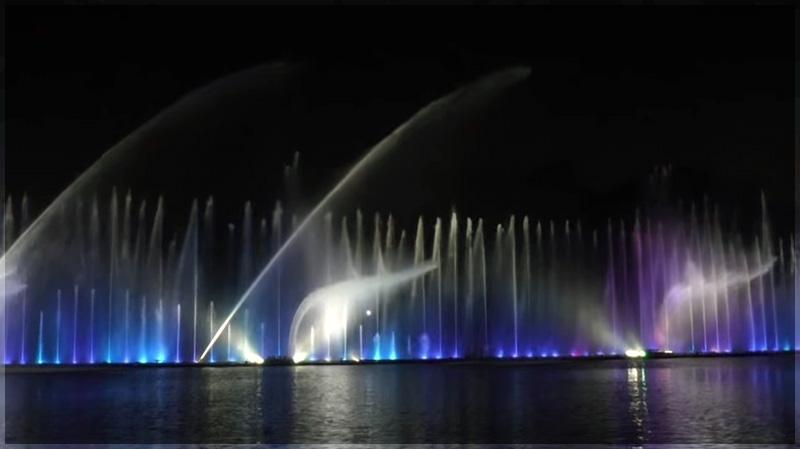 шоу фонтана Рошен