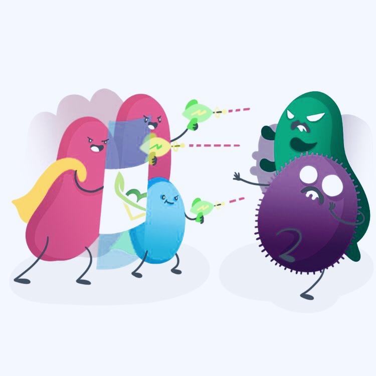 Пробиотики против патогенной флоры