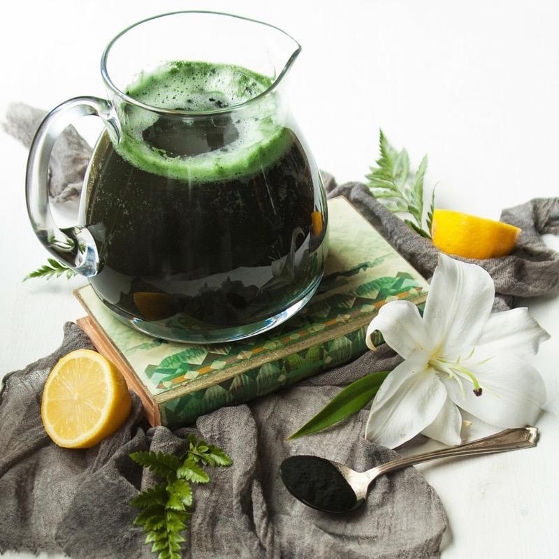 напиток из спирулины