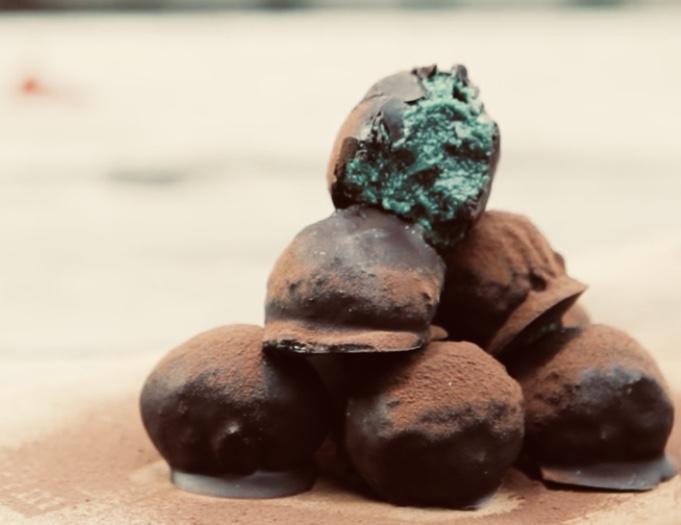 трюфели из шоколада
