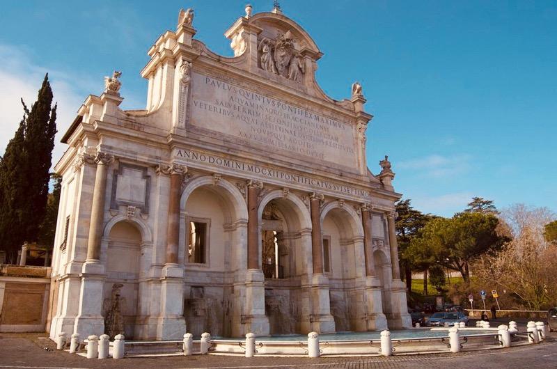 15 впечатляющих фонтанов Рима с фото и описанием