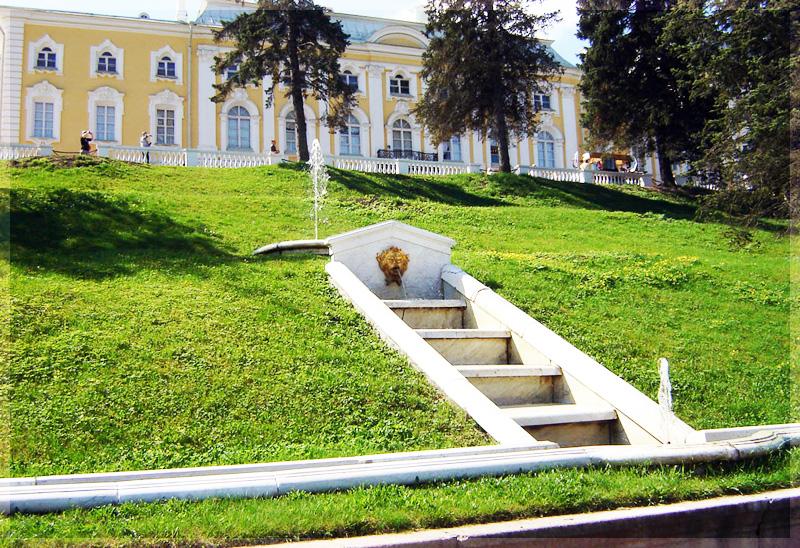 Террасные фонтаны