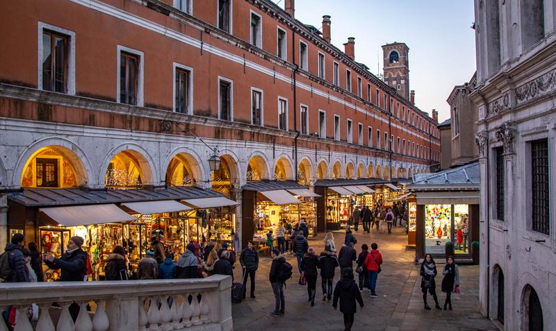 Рынок Риальто в Венеции